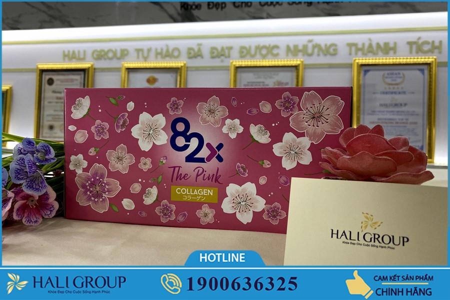 Review Nước Uống Collagen 82x The Pink Nhật Bản