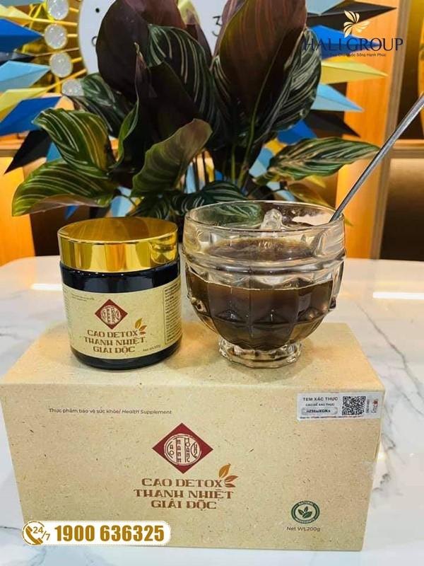 Cao Thanh Hoàng Cung GHB - thực phẩm tuyệt vời thanh lọc và tăng cường sức khỏe