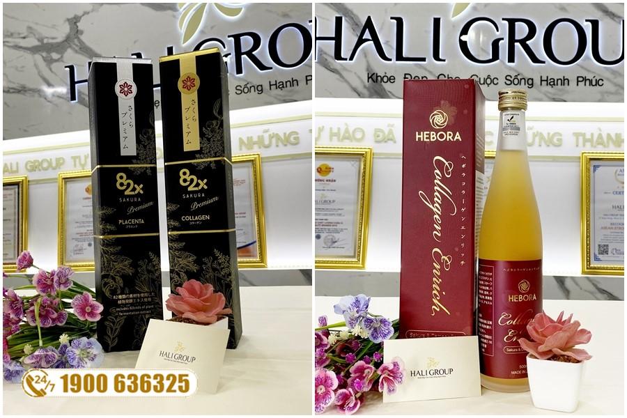 Nên dùng nước uống Collagen Hebora hay 82x Collagen của Nhật
