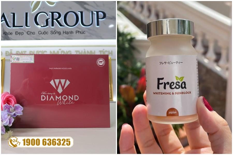 Nên chăm sóc da bằng Fresa Nhật Bản hay viên uống Diamond White